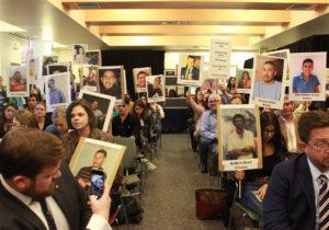 Una audiencia por los desaparecidos