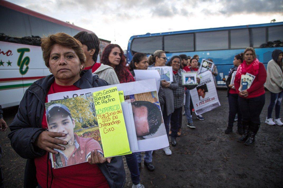 Buscando desaparecidos en Michoacán; diario de campo