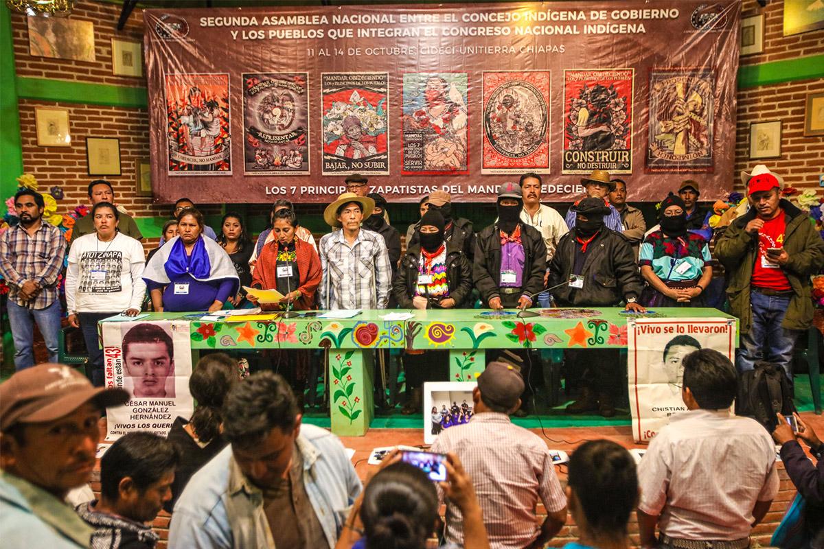 Indígenas reorganizan sus resistencias