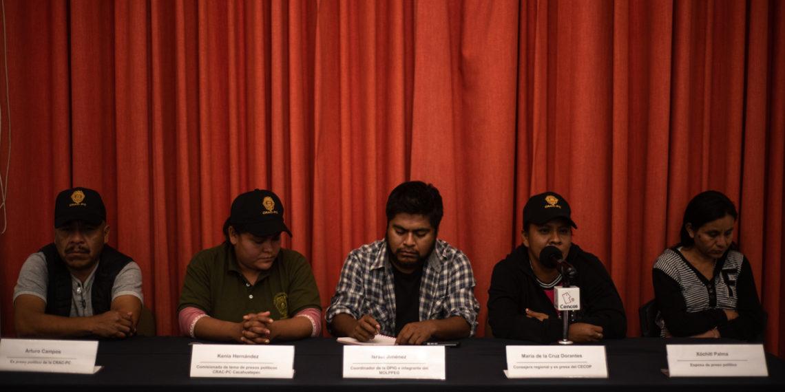 Exigen a AMLO que interceda por presos políticos de Guerrero