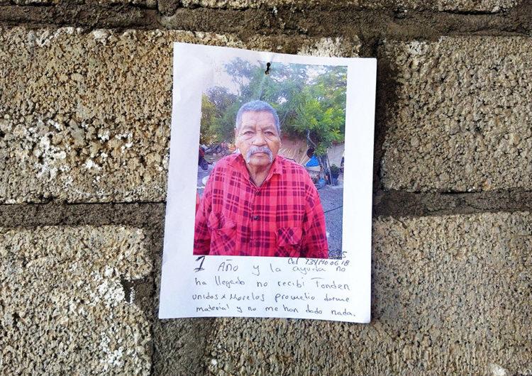 19S en Jojutla, Morelos: abandono, fraudes, rebeldía, tristeza