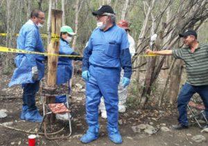 Alejandro Encinas recorre un 'campo de exterminio' en Tamaulipas