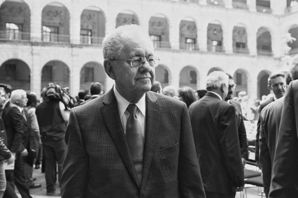 Javier Jiménez Espriú, secretario de Comunicaciones y Transportes.