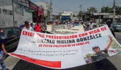 Protestan en Guerrero por la…