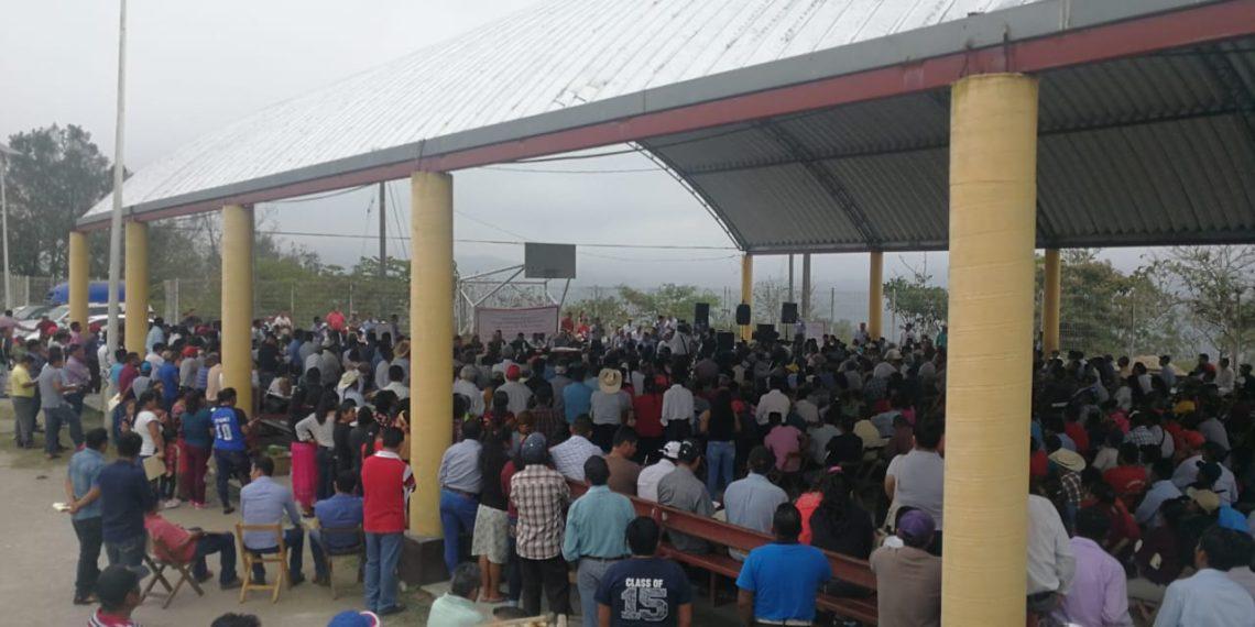 Pueblo Zoque rechaza consulta del Istmo, exige defensa Agraria