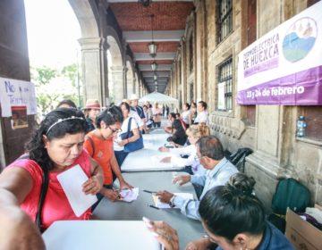 Consulta por Termoeléctrica: AMLO anuncia triunfo del Sí; pobladores de comunidades afectadas dicen No