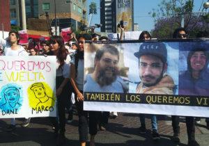 """""""Los queremos de vuelta"""": clamor por los estudiantes desaparecidos"""