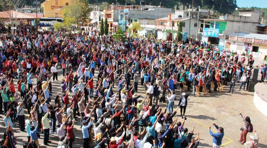 Oxchuc, primer municipio de Chiapas que elegirá  autoridades sin partidos políticos