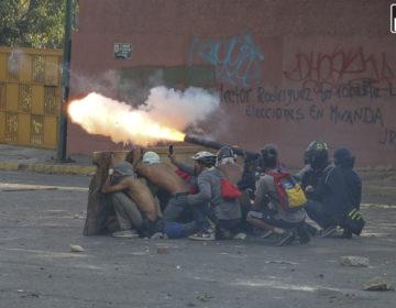 Venezuela en llamas