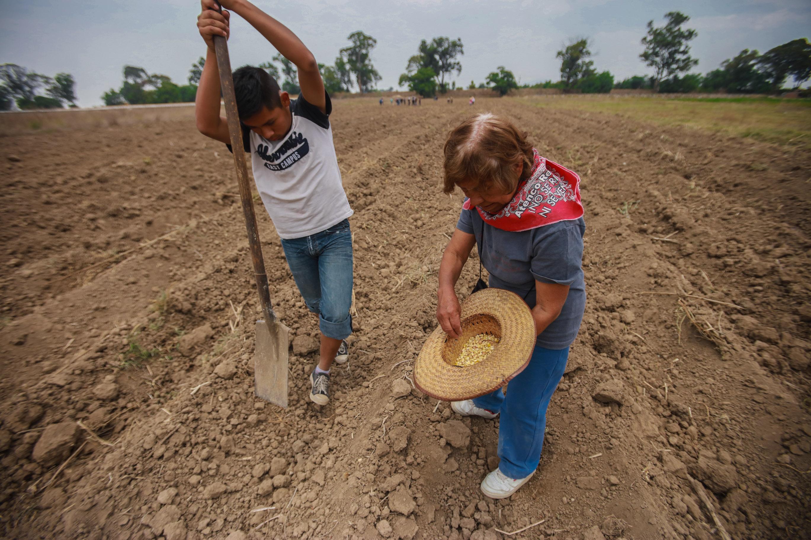 <br>Va por buen camino la restitución de tierras en Atenco, dice Ignacio del Valle