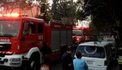 Incendian bar después de ataque…