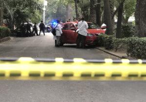 Ola violenta en la Ciudad de México