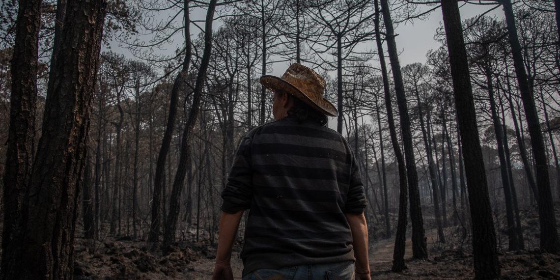 En el Ajusco aún luchan contra el fuego