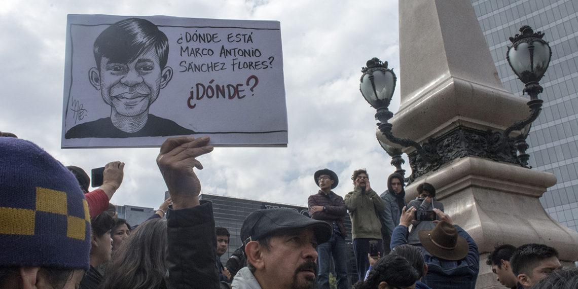 La deuda del Estado con Marco Antonio Sánchez