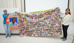 Familiares de personas desaparecidas comparten…