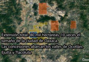 Minera Fortuna Silver Mines despoja de 80 mil hectáreas a indígenas en Oaxaca