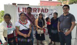Seis reos indígenas que denuncian…