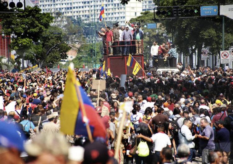 La disputa por el poder en Venezuela