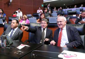 Celebran ratificación del T-MEC en el Senado