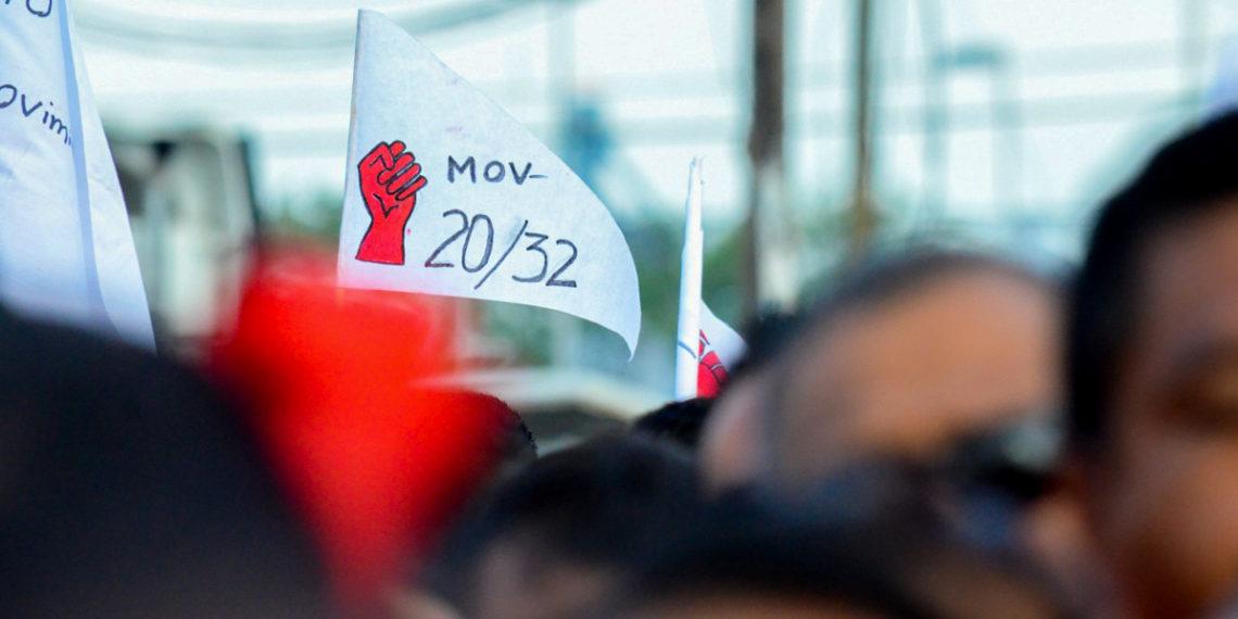 Integrantes del Movimiento 20/32 crean sindicato nacional