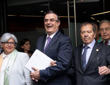 Ebrard pide unidad al Congreso por plan migratorio
