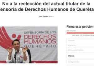 El Ombudsman de Querétaro, acusado de violaciones a derechos humanos