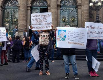 Buscan vecinos probar inconstitucionalidad de desalojos