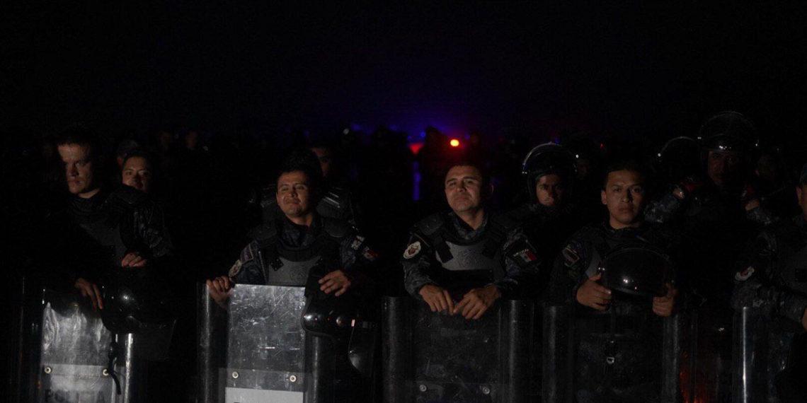 Sin tregua, la desaparición de la Policía Federal