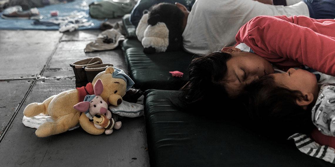 Los niños migrantes como campo de batalla