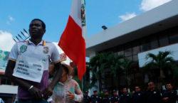 'Liberté', demandan migrantes de África y Haití