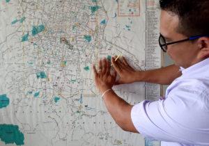 Santana, el GPS de las rutas de camión