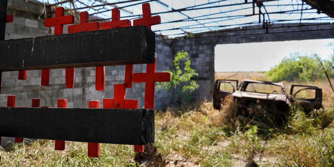 San Fernando: 72 cruces en el abandono