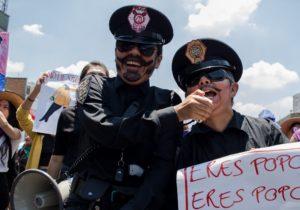 Once días de filtraciones sobre violencia sexual de la policía