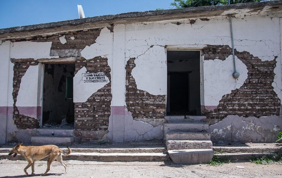 Pilcaya, promesas de reconstrucción incumplidas