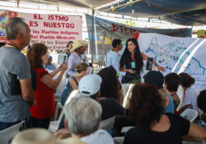 Comunidades indígenas hacen bloque contra proyecto transístmico