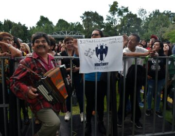 Cumbia en Los Pinos: 'un acto de justicia'