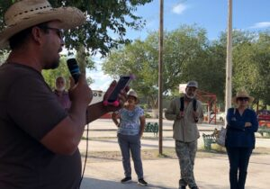 Alzan la voz contra la mina pobladores de Samalayuca