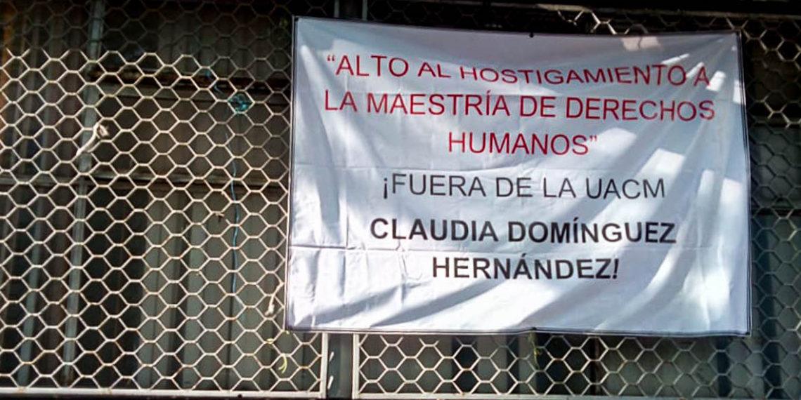 Estudiantes de la UACM niegan agresión a feministas