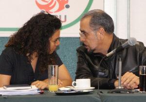 Sindicato de Notimex denuncia hostigamiento de Sanjuana Martínez; recibe respaldo de telefonistas