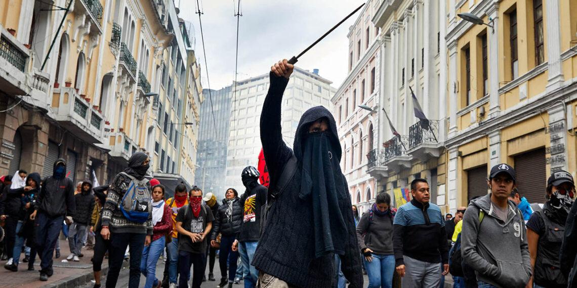 Paro Nacional en Ecuador: la receta noventera del FMI se repite