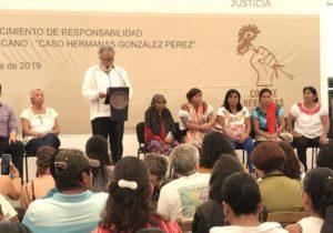 Gobierno mexicano pide disculpas a indígenas violadas por militares en 1994