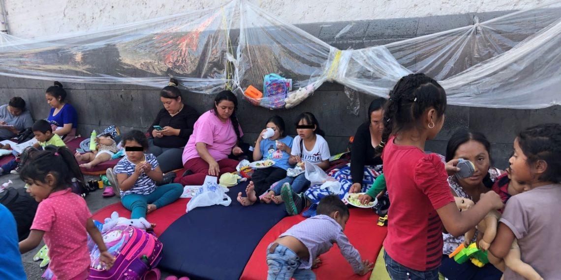 Desplazados, la larga espera para huir de México