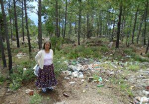 Convierten arroyo en basurero, denuncian comunidades rarámuris