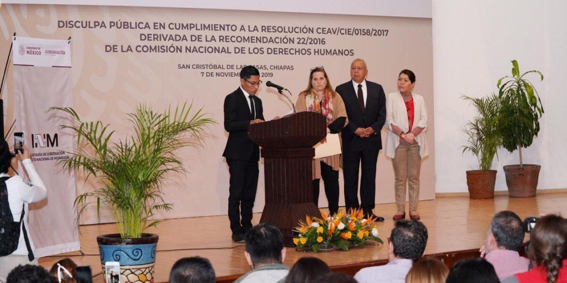 INM se disculpa con chiapanecos torturados para que dijeran ser de Guatemala