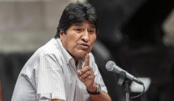 Evo Morales llama a crear…