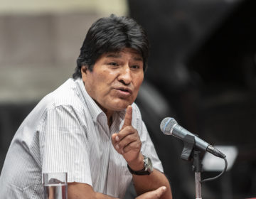 Evo Morales llama a crear comisión de la verdad sobre elección de octubre