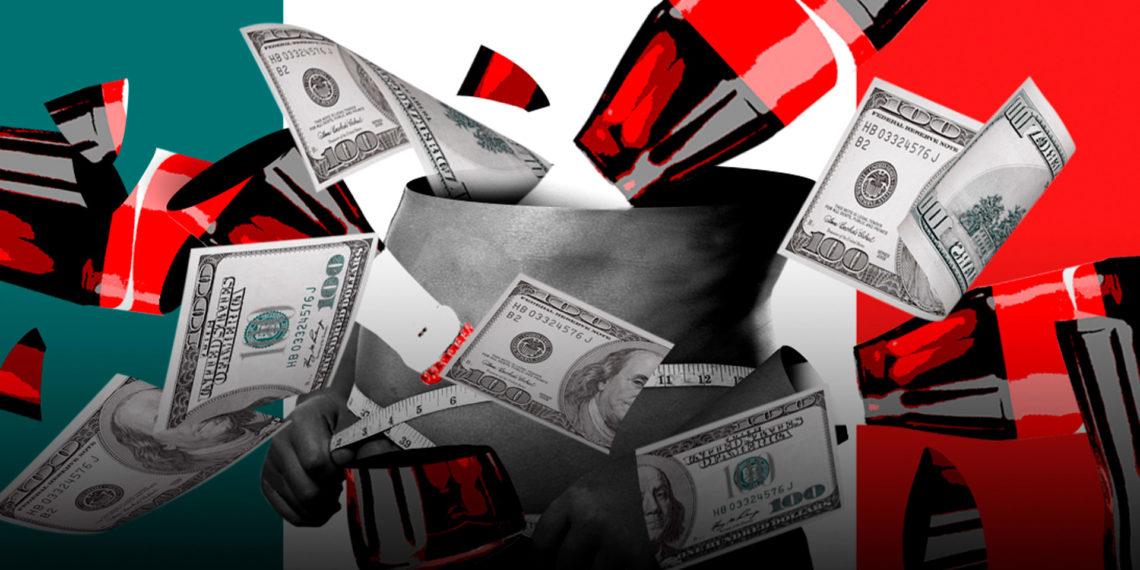 Coca Cola construye su emporio sobre la salud de mexicanos