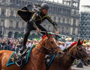 El estridente regreso del desfile revolucionario