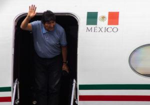 Recibe México a Evo Morales