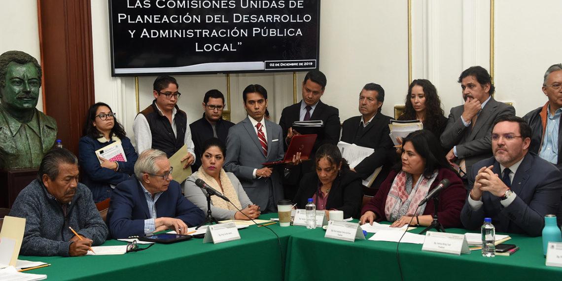 El desarrollo de la CDMX pende de dos propuestas de ley